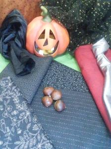 Telas para disfraces Halloween y castañera