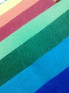 colores fieltro