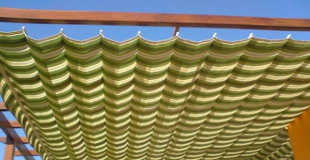 Tejido de exterior la sabadellenca for Mecanismos para toldos de lona